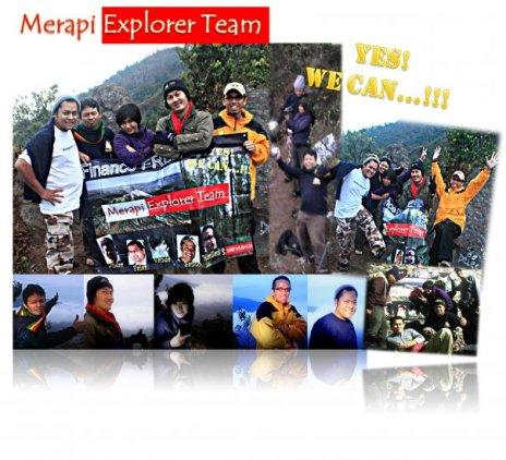 11. Tanggal : 14 - 15 November Lokasi : Gunung Merapi Klien : Marzani Usman, Santo, Vanda, Fajar, Yudar - SGM Jogja (5 orang) Kebangsaan : Indonesia Provider : Equator Indonesia